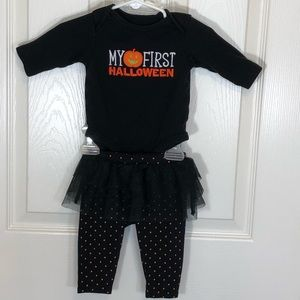 Carters Baby Girls 3 Mo My First Halloween Outfit